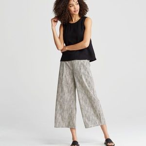 Eileen Fisher culottes wide leg trousers